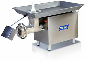 Commercial 32 Butcher Meat Grinder 3 Hp 3300 Lbs Prod 220 Volt 1 Phase