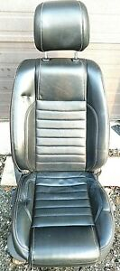 2013 Ford Mustang Gt 50 Front Seat Passenger Right Side Black Leather Oem