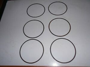 Nos Set Of 6 65 9 Corvair Steel Cylinder Head Gaskets