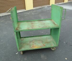 Industrial Commercial Steel Utility Materials Cart Local Pick Up Sarasota Fl