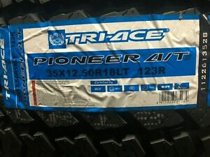 4 New 35 12 50r18 Pioneer At3 Tires 10 Ply 35x12 50 18 Truck 35 1250 18
