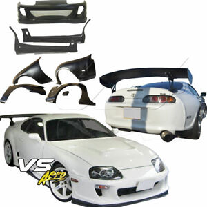 Vsaero Frp Rido Wide Body Kit 7pc For Toyota Supra Jza80 93 98