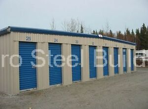 Duro Steel Mini Self Storage 10x60x8 5 Metal Prefab Building Structures Direct