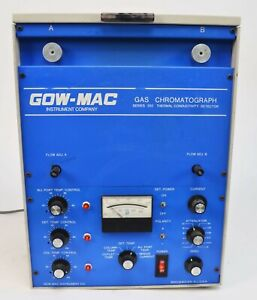 Gow mac 350 Series 69 350 Tcd Chromatograph Thermal Conductivity Detector