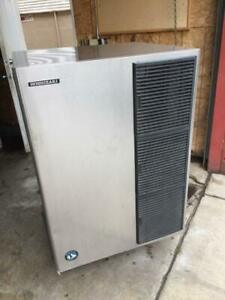 1300 Lb Ice Maker Machine And Matching Bin Hoshizaki Km 1340mah