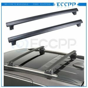 Eccpp For 2011 2018 Jeep Grand Cherokee Black Front Rear Roof Top Rack Bar