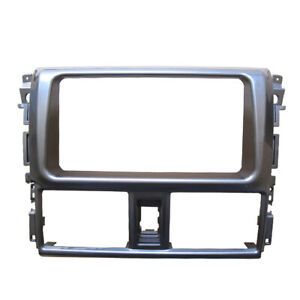 Double Din Stereo Panel For Toyota Yaris L 2013 2014 Fascia Radio Dvd Dash Kit