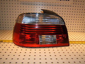 Bmw Late E39 Rear Trunk Left Driver Genuine Hella Bmw Led Taillight Oem 1 Lens