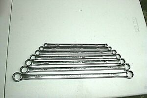 Cornwell Wbwmlohp7st 7 Piece Metric Long High Performance Offset Box Wrench Se