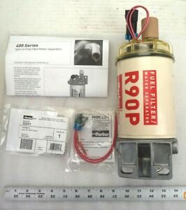 Parker Racor Diesel Spin on 400 series Fuel Filter Water Separator Assy 490r2430