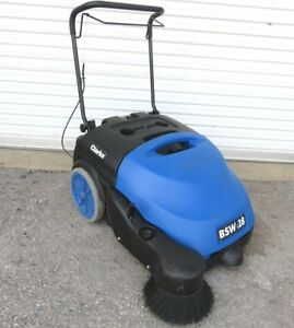 Sweeper Walke Behind Clarke Bsw 28 Sweeper W New Battery