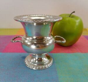 Vtg Mueck Cary 505 Sterling Silver Small Urn Vase Cigarette Toothpick Holder