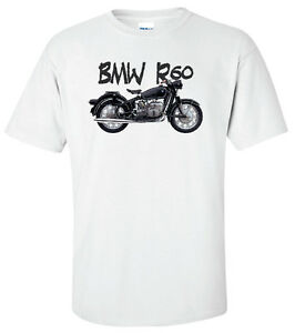 Bmw R60 R60 2 Custom Antique Vintage Motorcycle T shirt