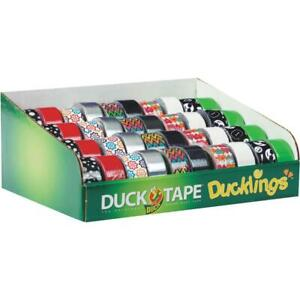 Duck Tape Ducklings Mini Rolls Duct Tape Display 1 Each