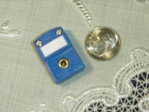Omega Thermocouple Connector Female Jack 2 Slot Pin Type T Blue Cp Co New