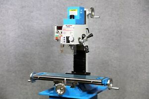 Weiss Vm 32l Bench Top Milling Machine Brushless Belt Drive Motor No Pulleys
