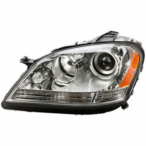 Hella Left Side Headlight Assembly For Mercedes Ml350 Ml320 Ml500 Ml550
