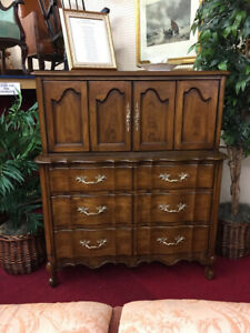 White Fine Furniture Company French Provincial Chest Delivery Available