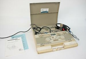 Welch Allyn Am 232 Manual Screening Audiometer Telephonics Tdh 39p Headphones 5