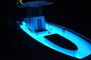 Boat Marine Led Strip Rope Light Kit Rgb Color Change Plus Controller