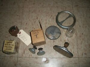 Lot Of Antique Car Parts From An Estate Ford Model T A 1930s More