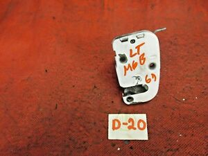 Mgb Door Latch Left Early 62 67 Original