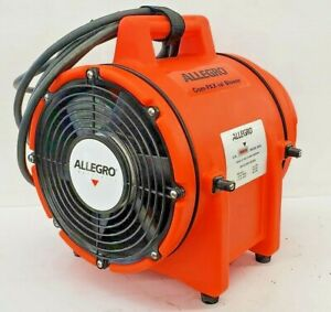 Allegro 9536 12vdc Com pax ial Plastic Blower 8 Without Canister