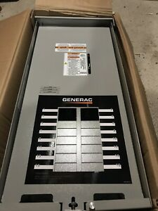 Generac 100 amp Outdoor Automatic Transfer Switch W 16 circuit Load Center