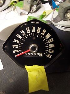 Oem 1965 Mustang Gt 1966 Ford Mustang Speedometer 140 Mph C5zf 17265