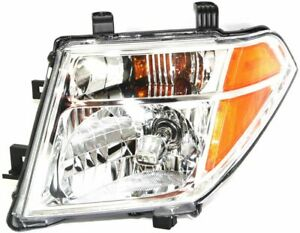 Headlight For 2005 2008 Nissan Frontier 2005 2007 Pathfinder Driver Side W Bulb