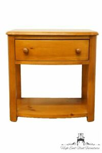 Stanley Furniture Solid Pine Country French 24 Nightstand Side Table