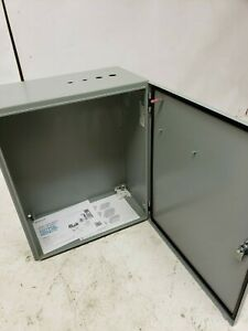 Hoffman Steel Electrical Waterproof Enclosure Csd242010 24 x20 x10 Free Ship