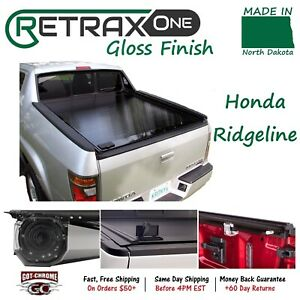 10502 Retraxone Retractable Tonneau Cover Honda Ridgeline 5 Bed 2017 2019