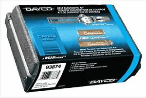 Dayco 93874 Timing Belt Diagnostic Kit Two piece Laser Alignment Tool