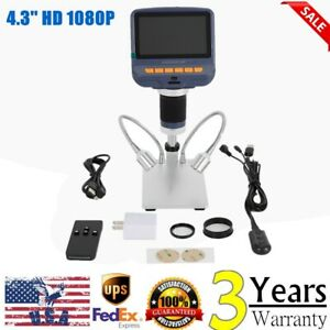 Andonstar Ad106s Digital Microscope 4 3 Inch 1080p With Hd Sensor Usb Us Stock