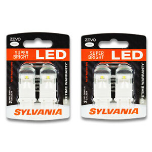 Sylvania Zevo Two 2 Packs 4114led Led Bulb Fog Daytime Running Cornering Ui