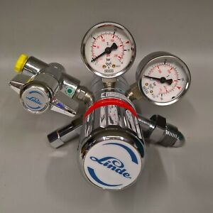 Linde 3000 Psi High Pressure Gas Regulator Cb200 2 9d 250 Brass pvdf epdm Gauge