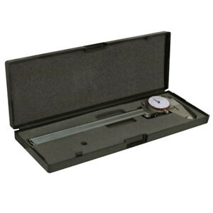 Dial Caliper 8 Inch 200mm Dual Reading Shockproof Scale Metric Sae Standard
