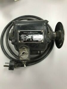 Vintage Emerson Electric Bethlehem Lathe Motor Base 1 12 Hp 1725 Rpm