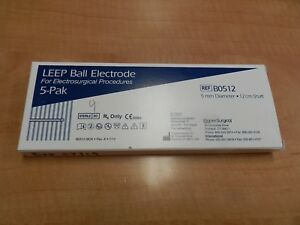 Cooper Surgical Leep Ball Electrode Ref B0512 New In Packagaing Box Of 4