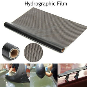 Hydro Film Water Transfer Pva Black Carbon Fiber Printing Dipping Hydrographics