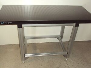Crated 2 X 5 Newport Optical Breadboard Table Adjustable T slot Bench Lab