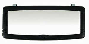 Interior Mirror For Auto Car Truck Clips To Sun Visor Or Stick On Rearview