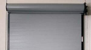 Durosteel Amarr 4202 Series Coiling Fire Rated Doors 4 20 Wide By 7 14 tall