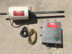 Lenox Instrument Company Air Cooled Fire Sight With Tv Monitor Connection Box