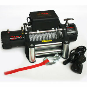 W12b Trail Fx Vehicle Recovery Winch 12 000lbs 12v Electric