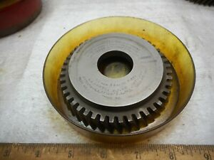 Fellows Gear Shaper Cutter 12 Np 14 Npa 44 Teeth Dp 11 12 D f 197 Ha 23 12 Rh
