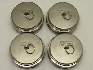 Dixon Dp 400 Cam Lock Dust Cap Stainless 316 lot Of 4 Each Free Shipping