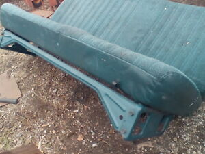 1988 94 Chevy Silverado Truck Bench Seat Tracks Support Bar Brace Front Blue Oem