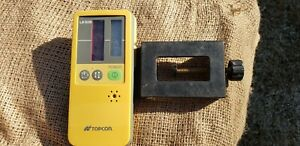 Topcon Ls 50b Laser Receiver Detector With Clamp Used But Great Shape